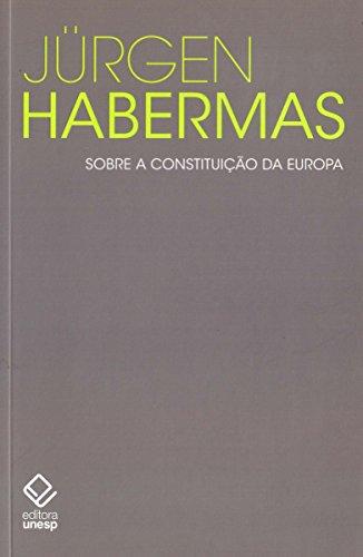 Sobre a constituição da Europa: Um ensaio