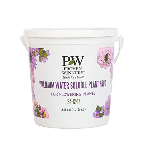 Premium Water Soluble Fertilizer, 2.5 lb. Container