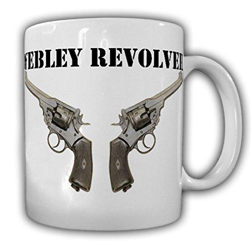 Webley Revolver Faustfeuerwaffe Großbritannien Webley & Scott 455 Tasse #16329
