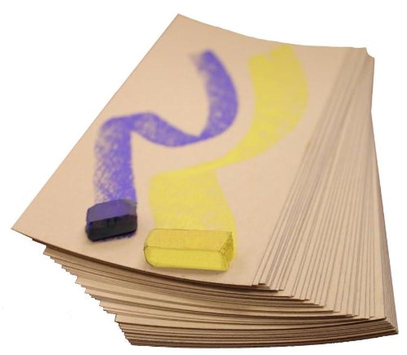 UART Sanded Pastel Paper M-160274 12-Inch/18-Inch No.280 Grade Paper, 10-Pack