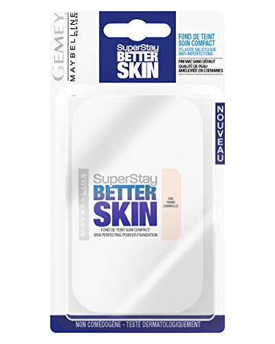 Maybelline New York Superstay Better Skin Poudre - Fond de teint compact - 40 CANNELLE