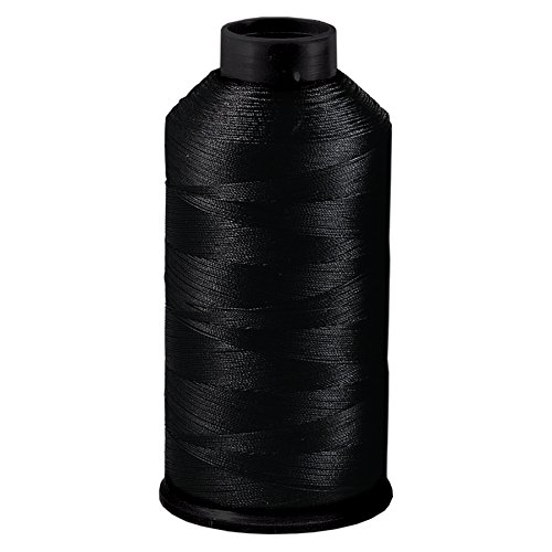 Dollylocks Bonded Nylon Hair Weaving Thread (Black)