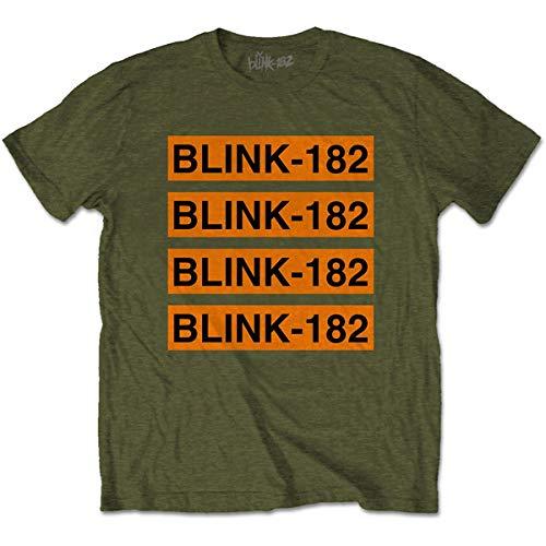 T-Shirt # L Unisex Green # Log Repeat