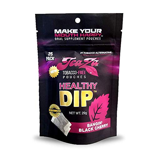 Smokeless Tobacco Alternative Helps You Quit Chewing Tobacco Nicotine Free Tobacco Free Dip Non Tobacco Chew Herbal Energy Flavored Tobacco Free Chew Helps You Quit Dipping - Bangin' Black Cherry Bomb