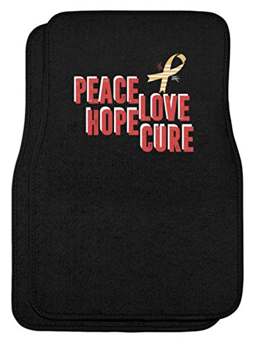 Peace Love Hope Cure Aids-lus met vleugels, automatten