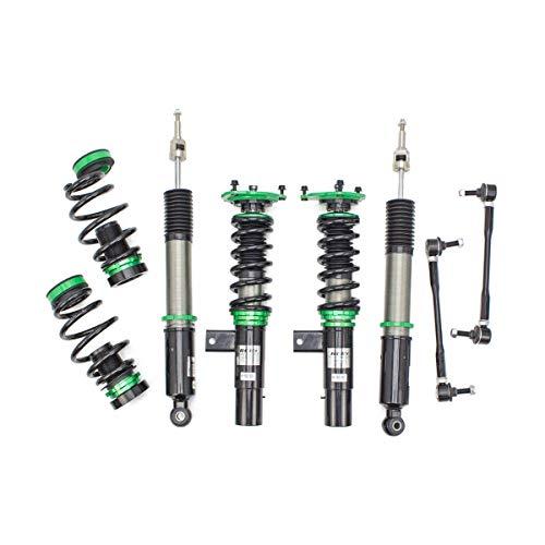 Rev9 R9-HS2-027_2 Hyper-Street II Coilover Suspension Lowering Kit, Mono-Tube Shock w/ 32 Click Rebound Setting, Full Length Adjustable