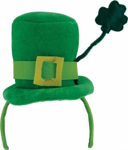 Mini chapeau avec trèfle Saint Patrick - Taille Unique