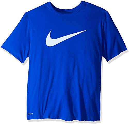 Nike M Nsw Tee Good Chest Swsh Fs - game royal/white, Größe:M