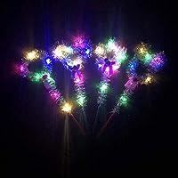 光るおもちゃ LEDペンライト 魔法の杖 光る 5個入 光り物玩具 ウェーブボール 子供会 コンサート 浴衣を着て 子供用 女の子 縁日 お祭り夏祭り 花火 ファッション 応急 コンサー パーティー 遠足 野外 適用 可愛い