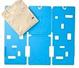 GigaTent MiracleFold Accesorio para Doblar Playeras, Pantalones y Toallas, Ahorro de Tiempo, Color Azul