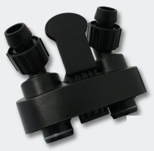 Replacement Quick-disconnect Shut Off Valve for SUNSUN HW-304B Canister, Black by Sun Microsystems