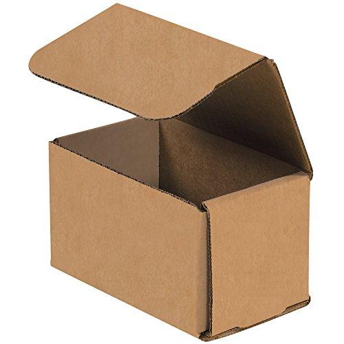 Box USA bm533K 12,7cm L x 7,6cm W x 7,6cm H, Kraft (50Stück)