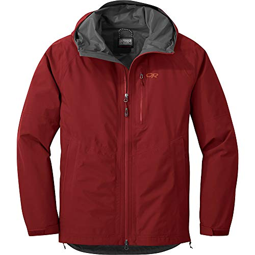 Outdoor Research Men's Foray Lightweight Hooded Packable Rain Jacket