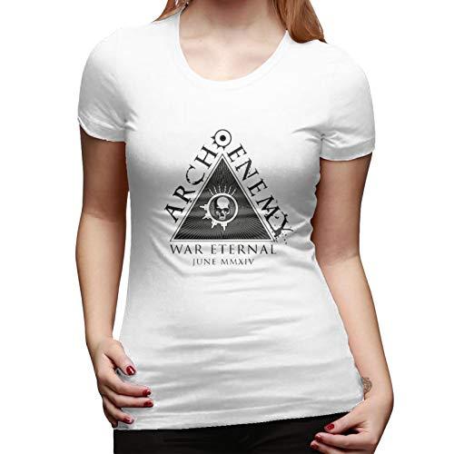 Women's Arch Enemy (2) Vintage Whiteshort Tee XL