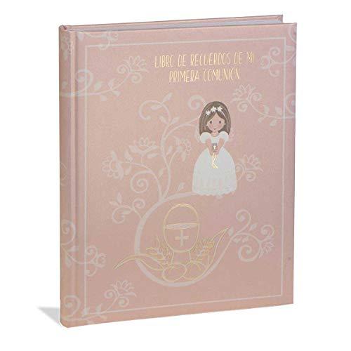 Busquets Libro comunión Castellano CALIZ NIÑA by