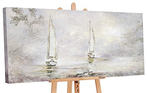 - Art Premium   Pintura acrílica de amanecer   Cuadros pintados a mano   Cuadro de pintura acrílica   Arte   Lienzo   Unikat   Multicolor   PS 098 (160 x 80 cm)