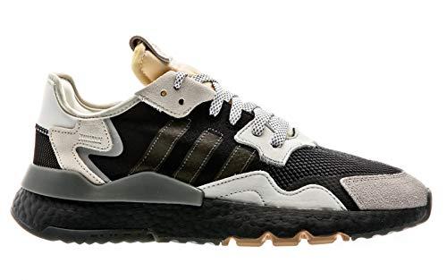 adidas Originals Nite Jogger, Core Black-Carbon-Footwear White, 4