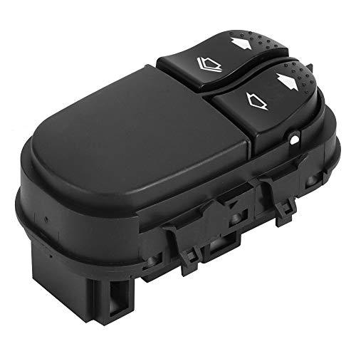 Qiilu Interruptor de la ventana del coche, 98AG-14529-AC ABS Interruptor de control del regulador maestro del elevalunas eléctrico del coche apto para Ford FOCUS 1998-2004