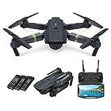 EWRT Videocámara – 720P / 1080P / 4K E58 plegable RC dron sin cabeza sin armado avión aeronáutico fotografía aeronáutica cuadricóptero RC juguete de avión