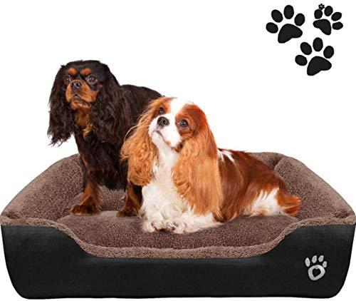 YAOSHUYANG Cama para mascotas, cama para perro, cama para mascotas, tamaño grande, resistente al agua, lavable, apto para mascotas domésticas, cachorros