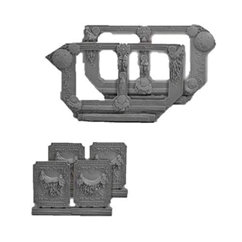 Scibor MM 28mm Miniature Conversion Parts Celtic Conversion Set 1