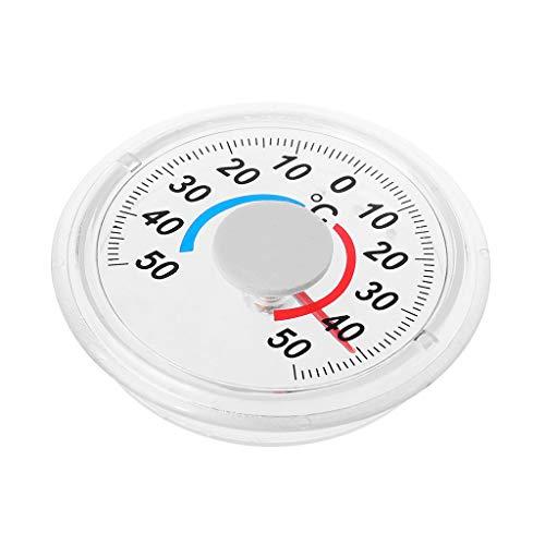 Selbstklebendes Haushaltsthermometer Aus Kunststoff,Selbstklebendes Thermometer Für Indoor-Outdoor-Fensterwand-Gartenhausgewächshaus Von R-WEICHONG