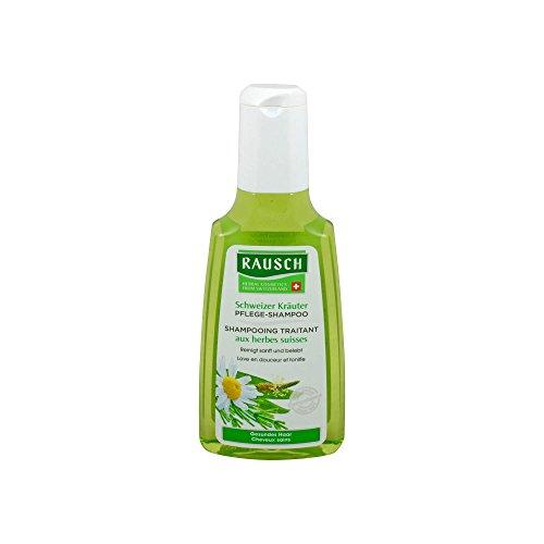 Rausch Schweizer Kräuter Pflege-Shampoo (kräftigt und schützt die Kopfhaut und schönes Haar, ohne Silikone und Parabene - Vegan), 1er Pack (1 x 200 ml)