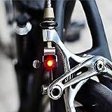 ミニバイクのブレーキライトユニバーサルマウントテールリアサイクリングLEDライト高輝度サイクリングアクセサリー fangyechen