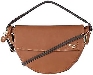 Baggit L Lyra Y G Z Women's Handbag (Brown)