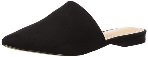 The Drop Frankie Zapatos planos destalonados con puntera en punta