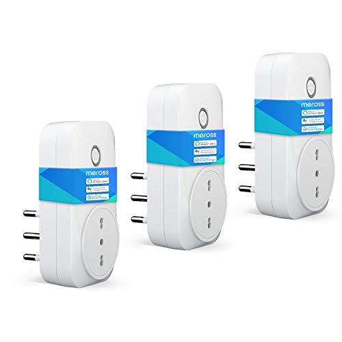 meross Presa Intelligente Wifi Italiana Smart Plug Spina Energy...