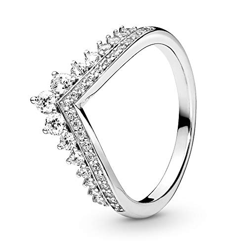 Pandora Princess Wish Ring Size 3.75 197736CZ46
