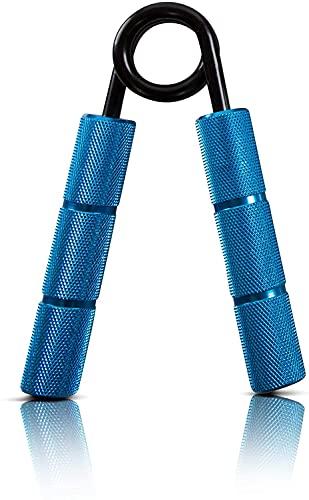 Powerball Fortalecedores Profesionales de Agarre de Metal 7 Niveles de Tensión Diferentes – 50 lbs - 350 lbs (150 lbs)
