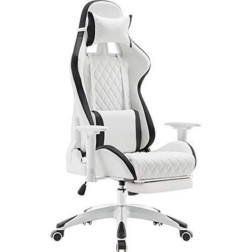Gaming Stuhl PU Leder Heben Liegen Drehstuhl Gaming Stuhl Büromöbel Computerstuhl Gamer Stuhl Rennstuhl B Keine Fußstütze -3646G5E4W