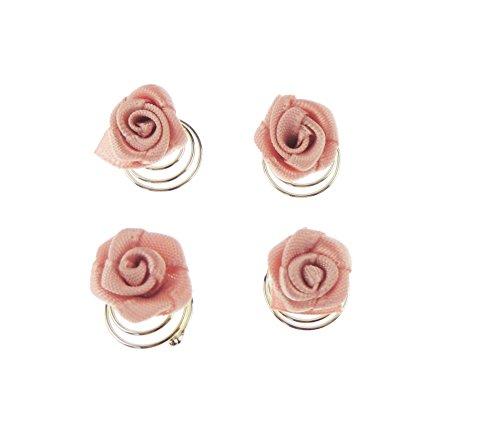 Con diseño de chicas seda para mujer de traje de neopreno para mujer de audio en forma de con diseño de conjunto de cinta y de cabina de 4 mangos de roseta de pelo de pines y tomas de contacto de primer plano de rosa trajes de novia vestido de dama de honor interiores para manillas de puertas polvo de mariposa y flor