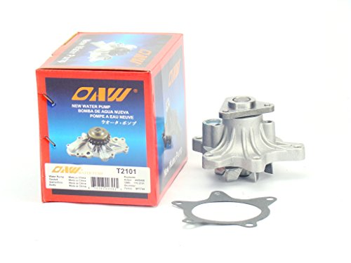 OAW T2101 Engine Water Pump for 04-06 Scion XA XB, 00-05 Toyota Echo, 06-15 Yaris & 01-09 Prius 1NZFE 1.5L