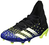 adidas Predator Freak .3 FG J, Zapatillas de f├║tbol, NEGB├БS/FTWBLA/Amasol, 34 EU