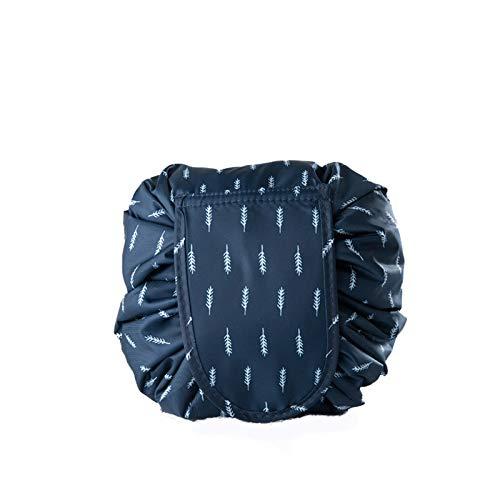 Barril Bolsa De Maquillaje Viaje Cordón Cosmético Bolsa De Maquillaje Bolsa De Aseo Organizador Impermeable Para Las Mujeres Caja De Almacenamiento-G 53 * 53cm