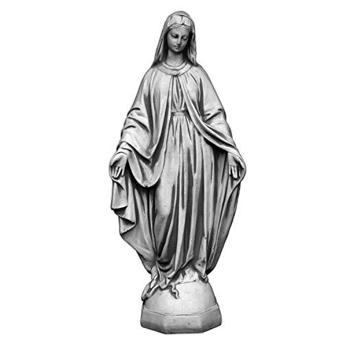 gartendekoparadies.de Massive Steinfigur Statue Figur heilige Madonna Maria Mutter Gottes aus Steinguss, frostfest
