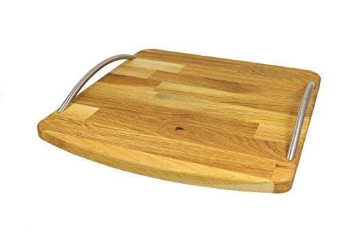 StreamBrush® Premium - Gleitbrett Holz-Gleiter aus Massivholz für den Thermomix TM5 / TM6 / TM31 Eiche
