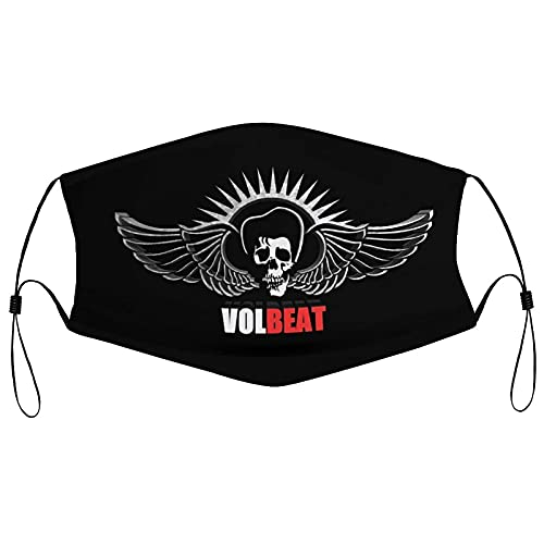 Hirola Vol-beat Wiederverwendbare Tuch Gesichtsmaske Waschbare Gesichtsbedeckung Atmungsaktive Sportmaske Verstellbarer Hals Gaiter für Männer Frauen Outdoor