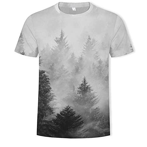 Divertidas Camisetas Unisex para Hombre Impresas En 3D, Camisetas Casuales, Camisetas De Manga Corta para Adolescentes, Niños, Niñas-T583_ L