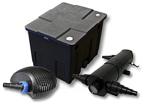 Filter Set für 12000l Teich mit 24W Teichklärer und CTF ECO Pumpe mit 40W