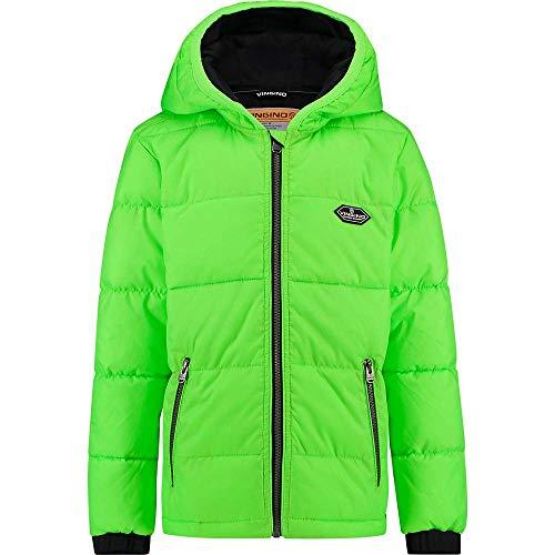 Vingino jongens Boys gewatteerde jas Tymon neon groen