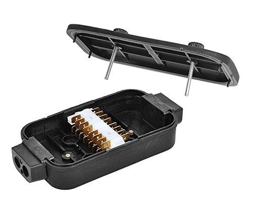 ProPlus 343097 Verteilerdose Kunststoff 8x4-polig