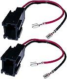 AERZETIX: 2x Conectores para altavoces y radio de coche C1852