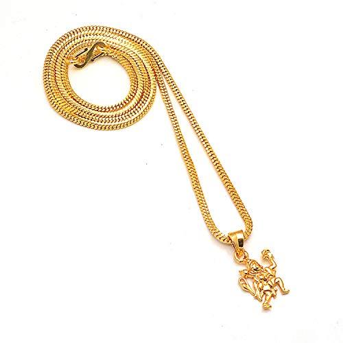 Zewar 8229 Ciondolo a forma di manga in lega di colore oro