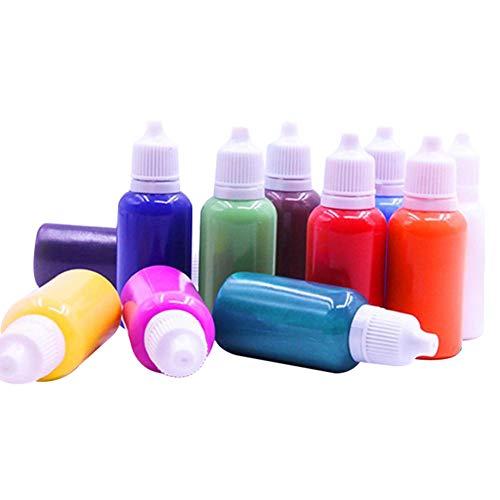 Helmay Kit de peinture hydrographie pour marbrure - Kit de peinture à l'eau