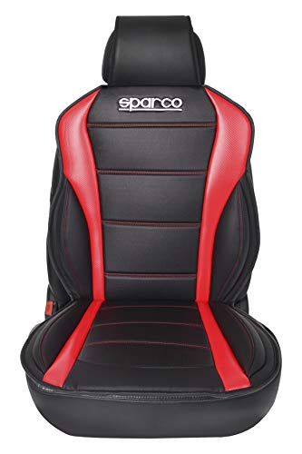 Sparco SPC0907RD Schienale Ergonomico, Rosso
