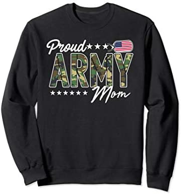OCP Proud Army Mom for Mothers of Soldiers and Veterans Sweatshirt product image